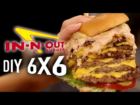 Cover Lagu DIY In-N-Out 6x6 Animal Style