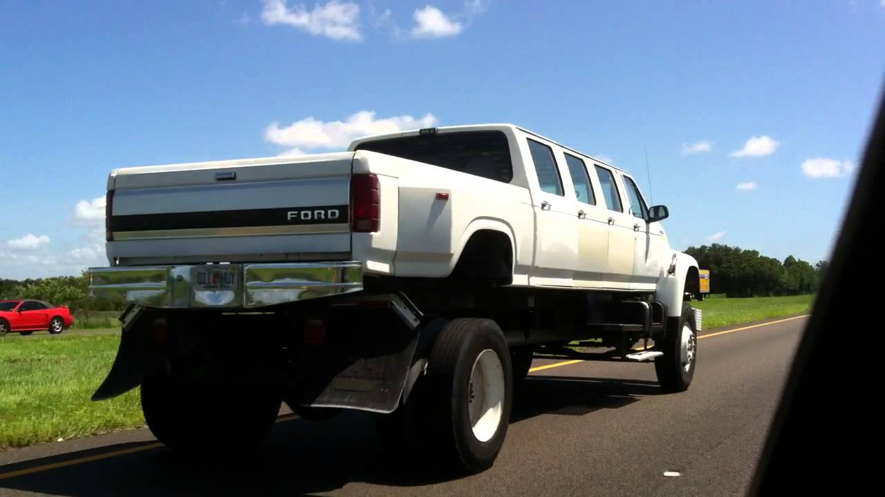 Ford monster truck limo