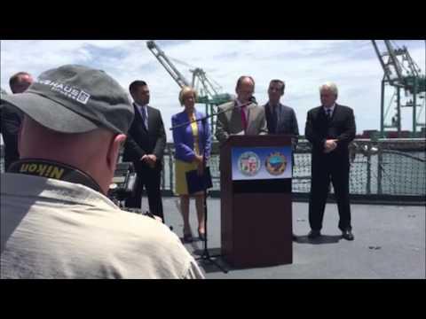 U.S. Secretary of Labor Thomas E. Perez on USC Port Project