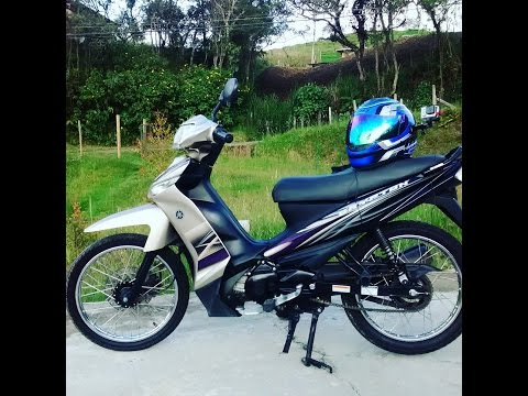 yamaha crypton 115 test drive review