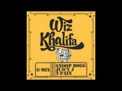 Wiz Khalifa feat Snoop Dogg, Juicy J & T-Pain - Black & Yellow (Official G-Mix)