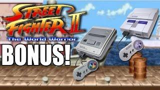 Street Fighter II - Ken's Stage comparison Super Nintendo / Super Famicom