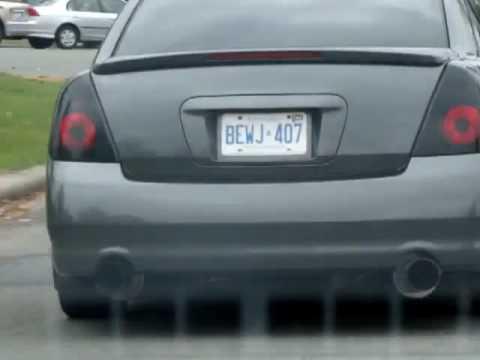 Nismo Nissan Altima SE R - YouTube