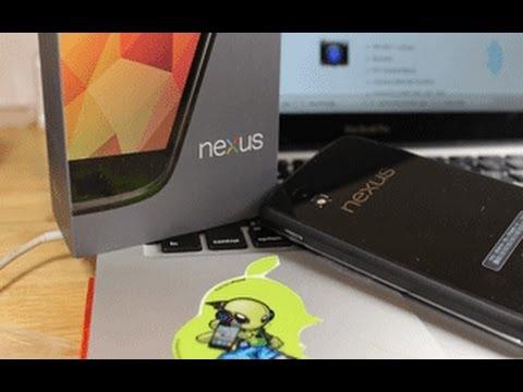 Unboxing Nexus 4 - Espa�ol