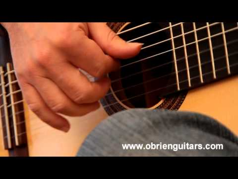Venezuelan waltz 3 performed by Euclides Marques on a 7 string guitar by O'Brien Guitars