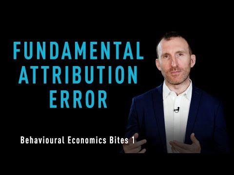 OFI Behavioural Economics Bites 1 - Fundamental Attribution Error