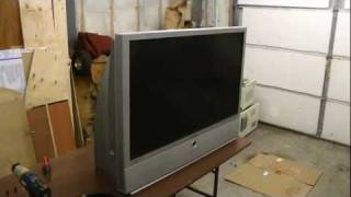 DLP rear projection TV part 1
