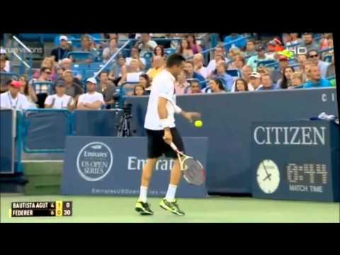 Roberto Bautista Agut vs Roger Federer vs Hightlight Cincinnati 2015 | Highlight HD