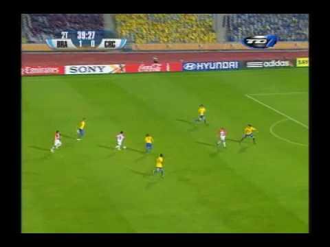 Costa Rica vrs Brasil (Mundial SUB-20 Egipto 2009) 10.13.09