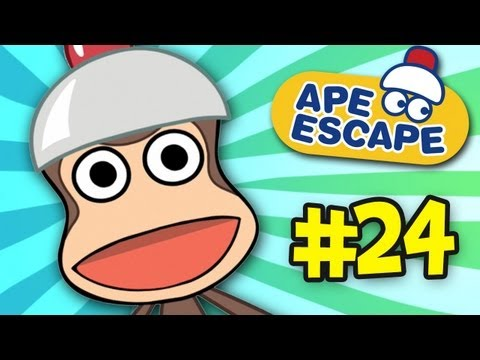 Babes In Arms Way - Ape Escape Cartoons (Ep. 24)