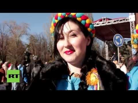 Ukraine: Donetsk shuns vote, celebrates cultural diversity
