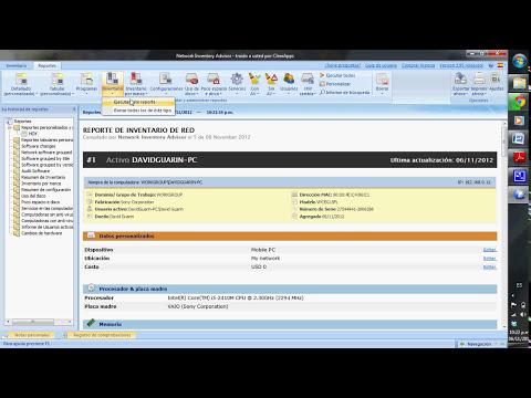 Herramienta de Inventario de Hadware y Software. (Network Inventory Advisor)