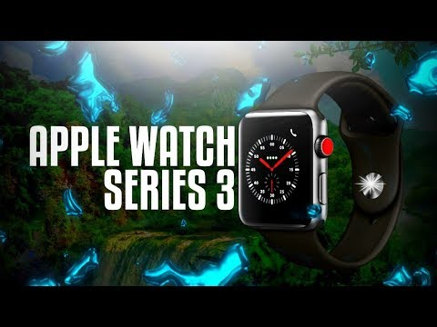 APPLE WATCH SERIES 3 42MM SPACE GREY (GPS) UNBOXING AND REVIEW APPLE WATCH SERIES 3 SETUP!