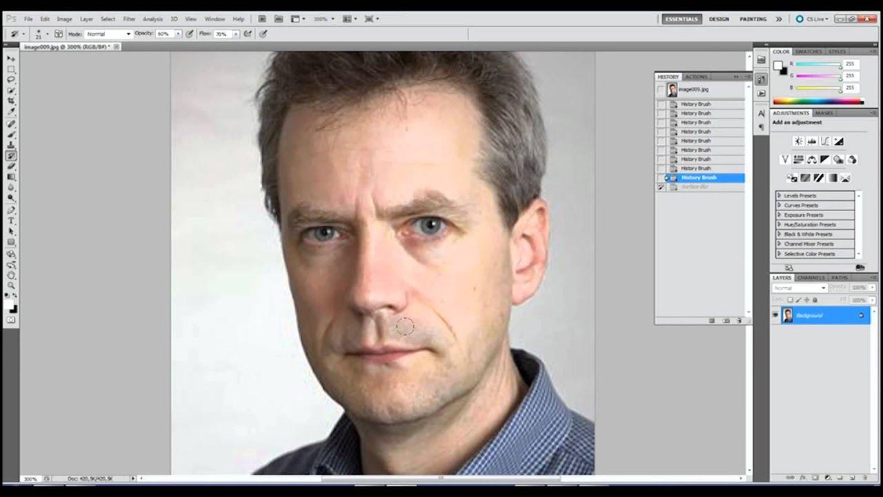 Как сделать складку в фотошопе