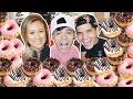 10,000 Calories of Krispy Kreme Donuts in 10 Min! (Ft. LAURDIY & ALEX WASSABI)
