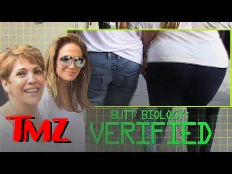 JLo Reveals the Secret Behind her Behind!! | TMZ