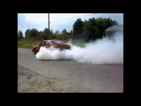 4 bolton 5.0 rolling burnout (3 fox,1 sn95)