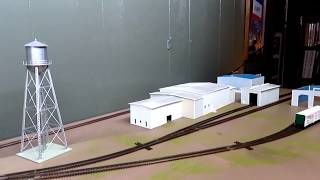 N Scale Shelf Layout Update