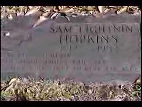 LIGHTNIN' HOPKINS Gravesite