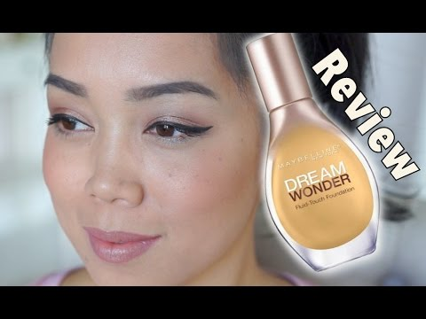 Maybelline Dream Wonder Fluid Touch Foundation Review - itsjudytime