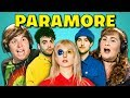 ADULTS REACT TO PARAMORE -