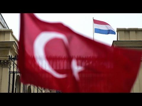 Дипломатический конфликт между Турцией и Нидерландами обостряется (новости)