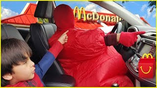Sumo Driving Parents Car to McDonald's For Happy Meal | Jai Bista Show