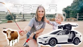 Would the Tesla Model X Survive a Ranch?