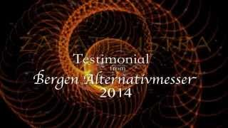 Testimonial from Bergen Alternativemesser 2014