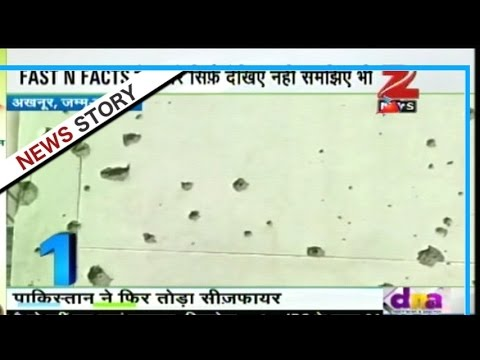 Pakistan's heavy firing in Akhnoor sector of J&K