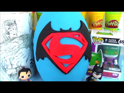 Batman Vs Superman Movie Full Giant Surprise Egg thumbnail