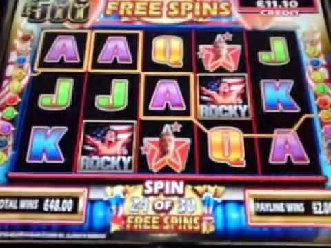 rocky slot machine free