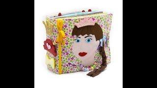 Children's Quiet Book, Busy Book, Eco friendly, soft book, cloth book - MiniMom's -