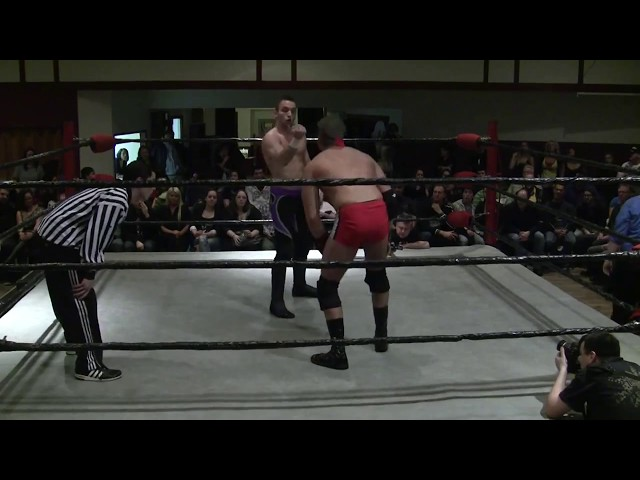 Pacific Cup Night 2 - 2012-02-25 - ECCW Championship - Pete Powers vs. El Phantasmo