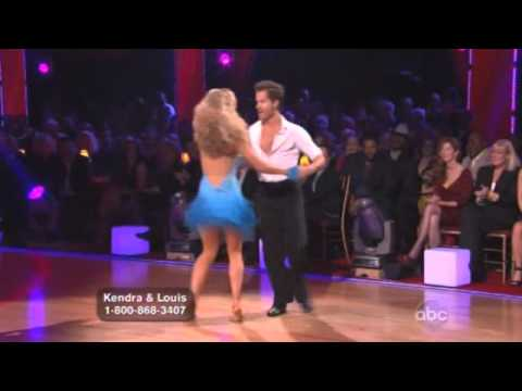 Kendra Wilkinson and Louis van Amstel Dancing with the Stars Week 1 Cha cha Cha