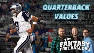 Fantasy Football 2016 - QB's 11-15, Sleeper QB's, Combine Hype - Ep. #238