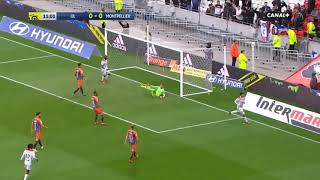 But Martin Terrier OL 1-0 Montpellier | Ligue 1 Conforama