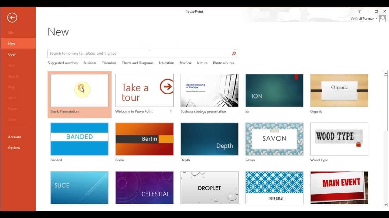 Microsoft Powerpoint 2013 Pt 1  Create Slides  Add