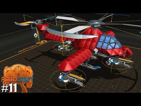 Как сделать вертолёт робокрафт