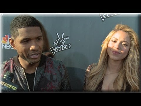 Usher & Shakira - Hands Of Stone, shakira Album & Pharrell - The Voice Season 6 video