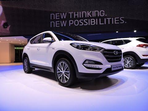 Hyundai Tucson Hybrid Concepts - 2015 Geneva Motor Show