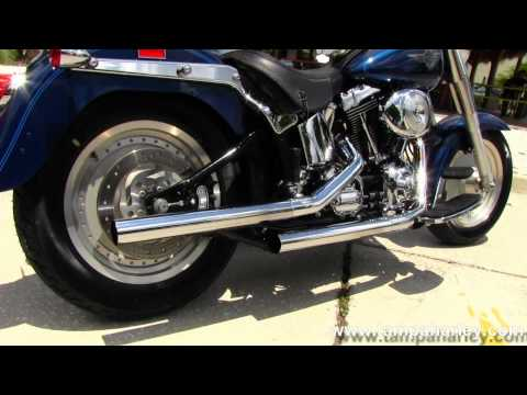 Used 2000 Harley-Davidson FLSTF Fat Boy with Vance & Hines Exhaust