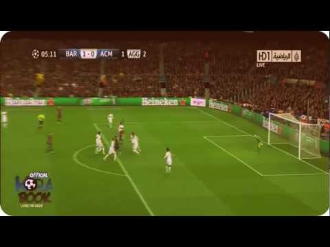 (HD) FC Barcelona vs AC Milan 4-0 12/03/2013 - All Goals & Full Highlights UEFA Champions League