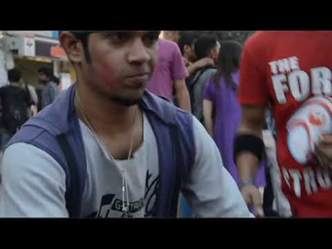 ICC WorldTwenty20 Bangladesh,Flash Mob-Stamford University Bangladesh (Dhanmondi Campus)