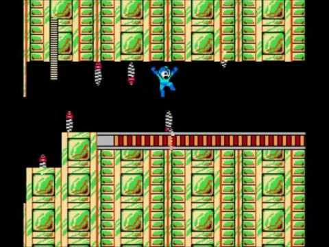 Mega Man 2: Metal Mans Stage- No Damage, Buster Only