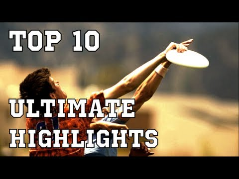 Top 10 Ultimate Frisbee Plays | Brodie Smith