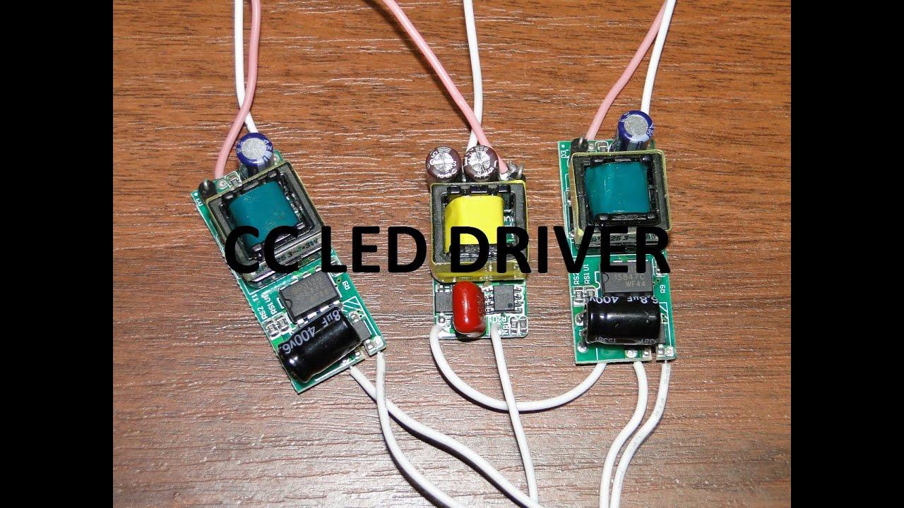 Драйвер для светодиодных фар своими руками