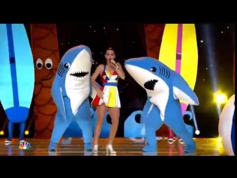 Выступление Katy Perry на Super Bowl с использованием света MA Lighting