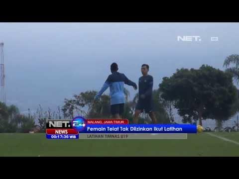 NET24 - Latihan Perdana U 19 di Batu, Jawa Timur