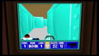Wolfenstein 3D Episode 6 Floor 9 Final Boss Anya